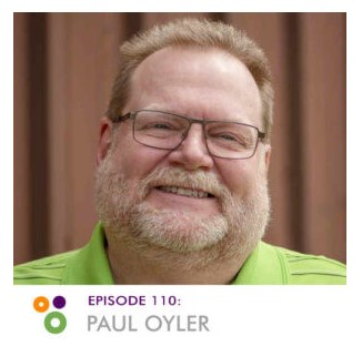 This is a photo of me, Paul Oyler, from the Hallway Chats podcast interview page.