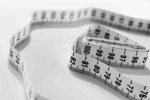 A photo of a measuring tape, similar to the one I will be using during my weight loss journey.